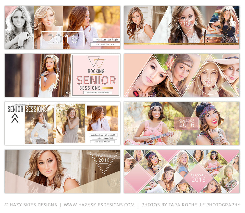 Facebook Timeline Cover Templates for Senior Photographers Photoshop ...