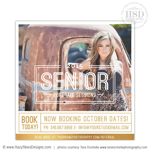 Senior Marketing Templates | Covergirl Collection