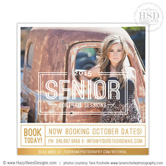 Senior Photography Marketing Template | Senior Overlay