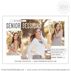 Senior Photography Advertising Template | Posh