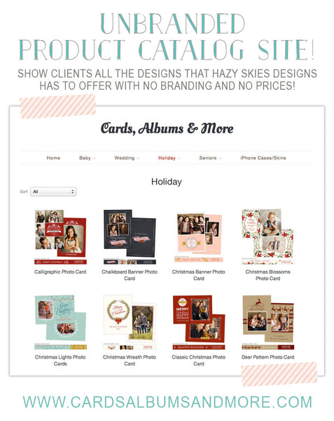 FREE Unbranded Catalog Site - NOT A DOWNLOAD - Click for Details