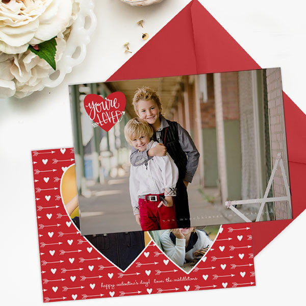 Valentine's Day Card Template | You're Loved