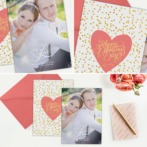 Valentine's Day Card Template | Love Overlay