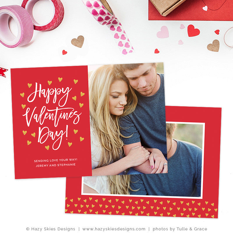 Valentines Day Photoshop Template Lots Of Love