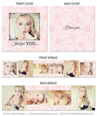 Accordion Mini Book Template | Ooh La La Boudoir