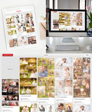 Blog & Pin Board Templates | All About Images