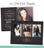 Graduation Card Template for Photographers
