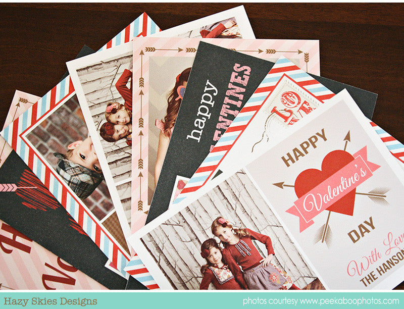Valentine's Day Card Templates | Special Delivery Collection