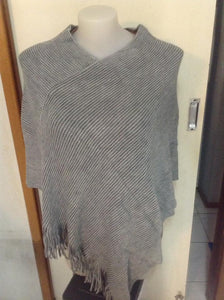 One size Poncho (Grey)