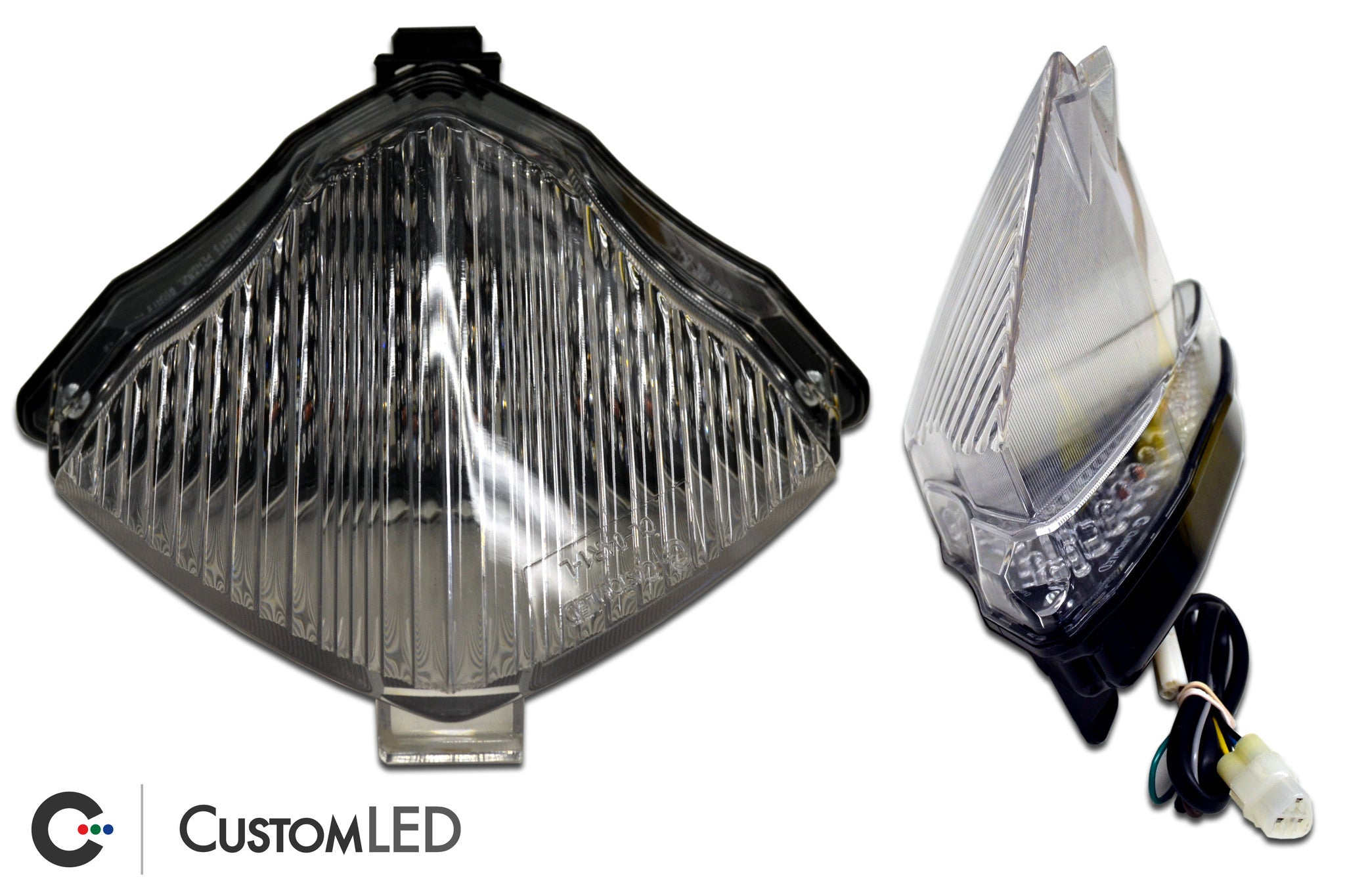 Led Tail Light Blue Lens Integrated Turn Signals for YAMAHA 2004-2006 R1