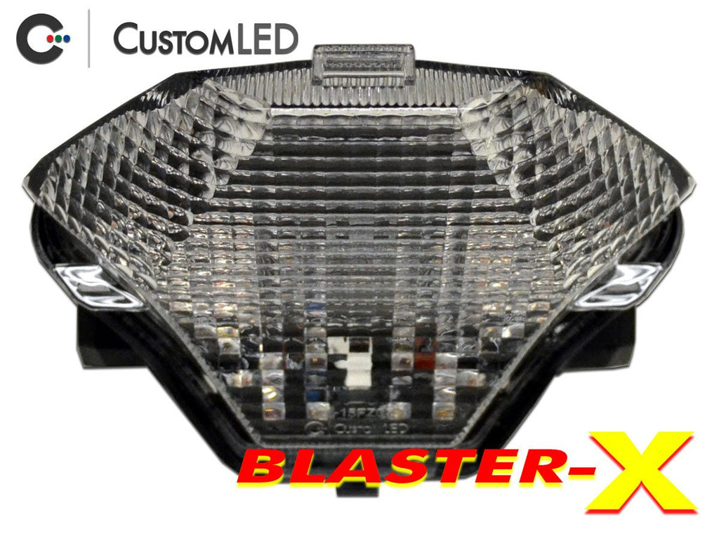 Yamaha YZF-R3 Blaster-X Integrated LED Tail Light for years 2015 2016 2017 by Custom LED