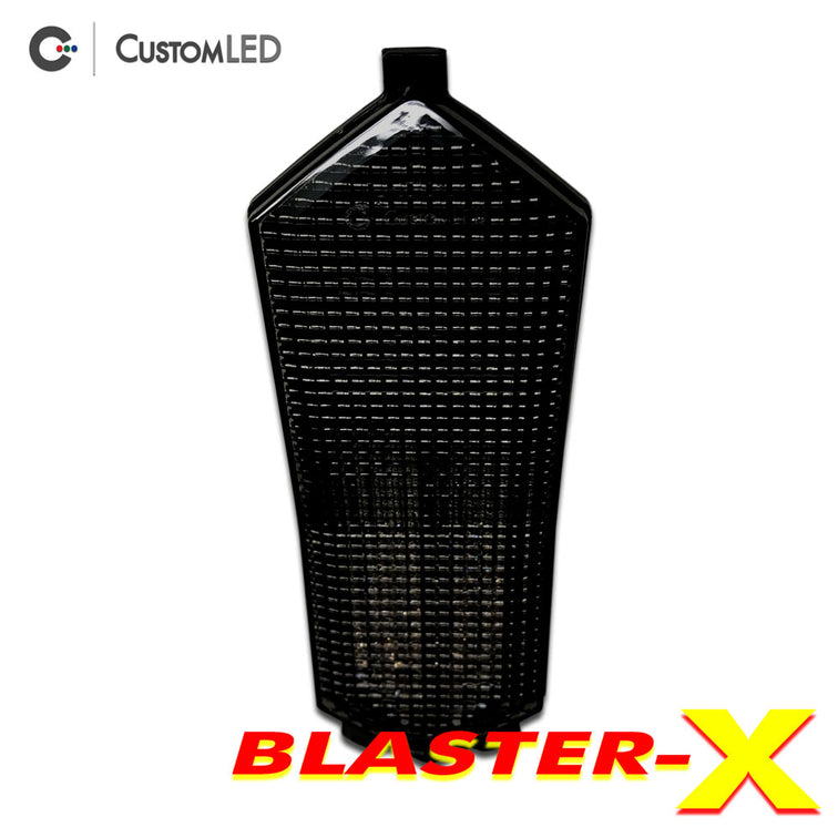 Yamaha YZF-R6 Blaster-X Integrated LED Tail Light for years 2017, 2018, 2019 & 2020 by Custom LED - Smoked Lens