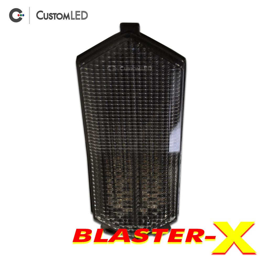Yamaha YZF-R1 Blaster-X Integrated LED Tail Light for years 2015, 2016, 2017, 2018, 2019 & 2020 by Custom LED - Clear Lens