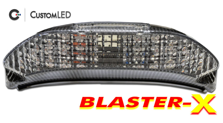Honda CBR-600RR Blaster-X Integrated LED Tail Light for years 2013-2021 by Custom LED