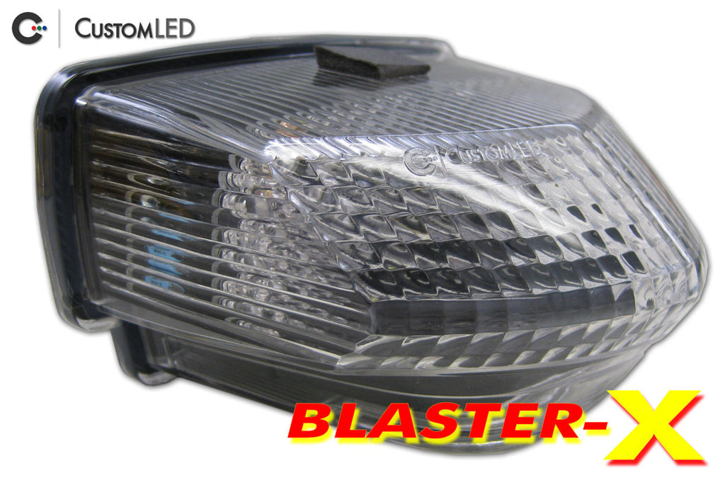Honda CBR-600RR Blaster-X Integrated LED Tail Light for years 2007 2008 2009 2010 2011 2012 by Custom LED