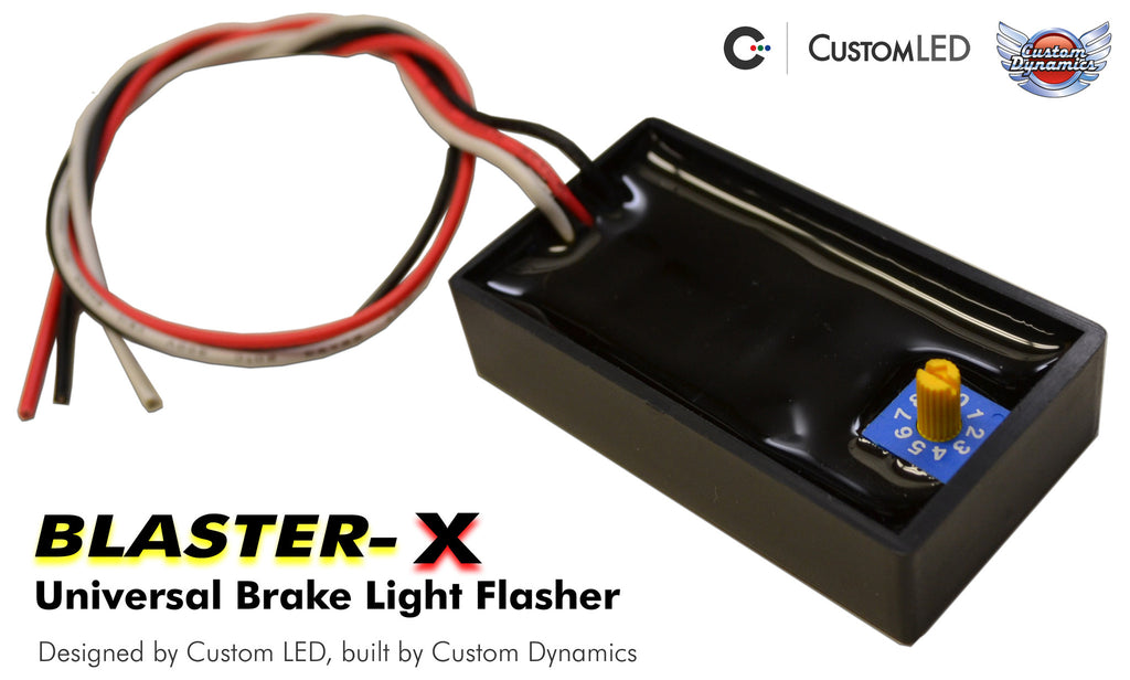 Brake Light Modulator: Universal Magic Strobes Brake Light Flasher for Motorcycles | Custom LED