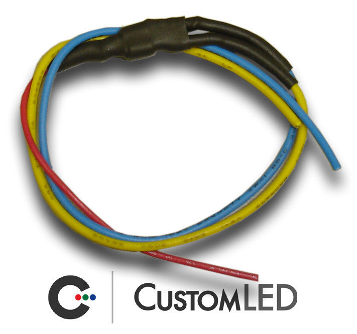 4-Wire Conversion Pack for Universal Round LED Clusters | Custom LED