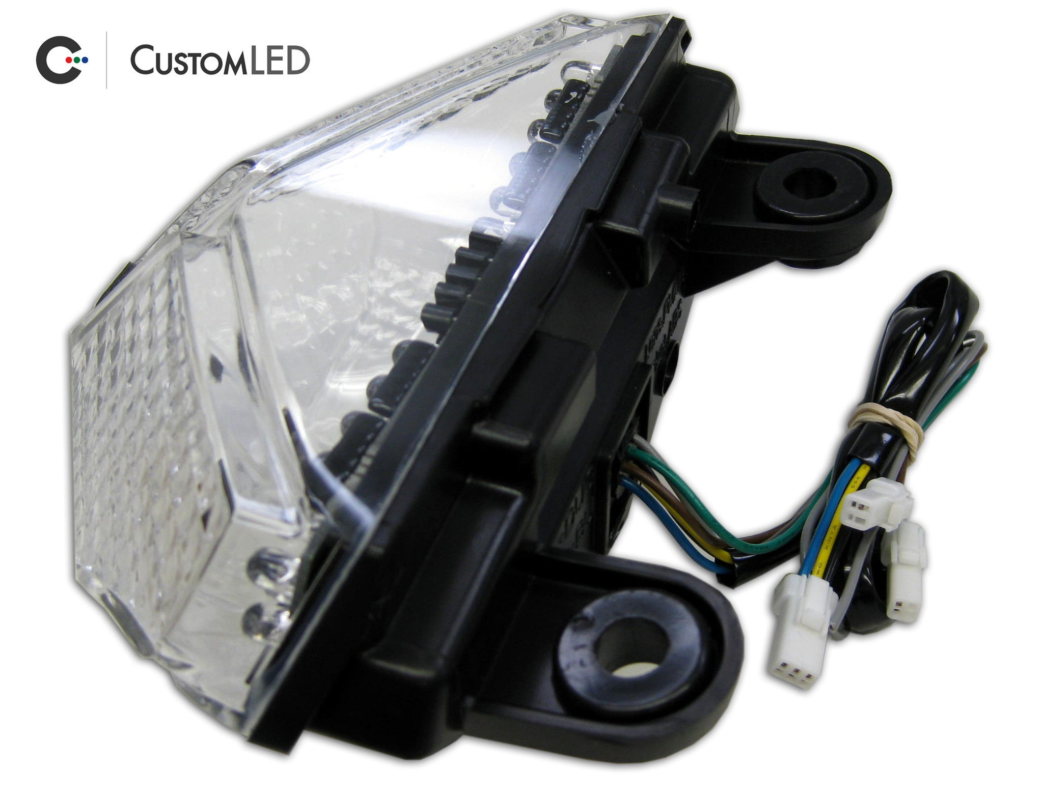 2008 2013 Ducati 848 Blaster X Integrated Led Tail Light Custom Wiring Diagram Bmw S1000rr Multistrada 1200 For Years 2009 2010 2011 2012