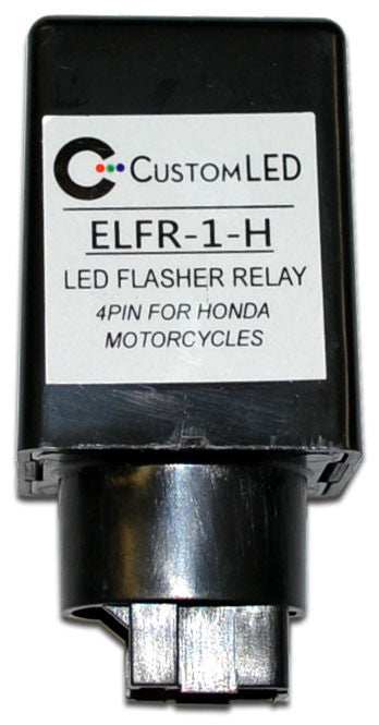 ELFR-1-H Electronic LED Flasher Relay 4-Pin Honda on