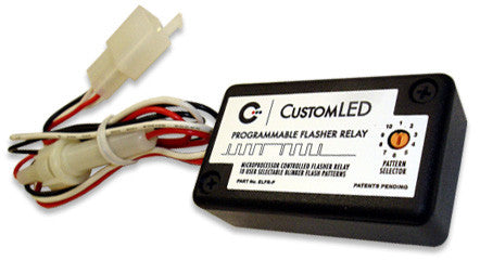 elfr-p programmable electronic led flasher relay with oem