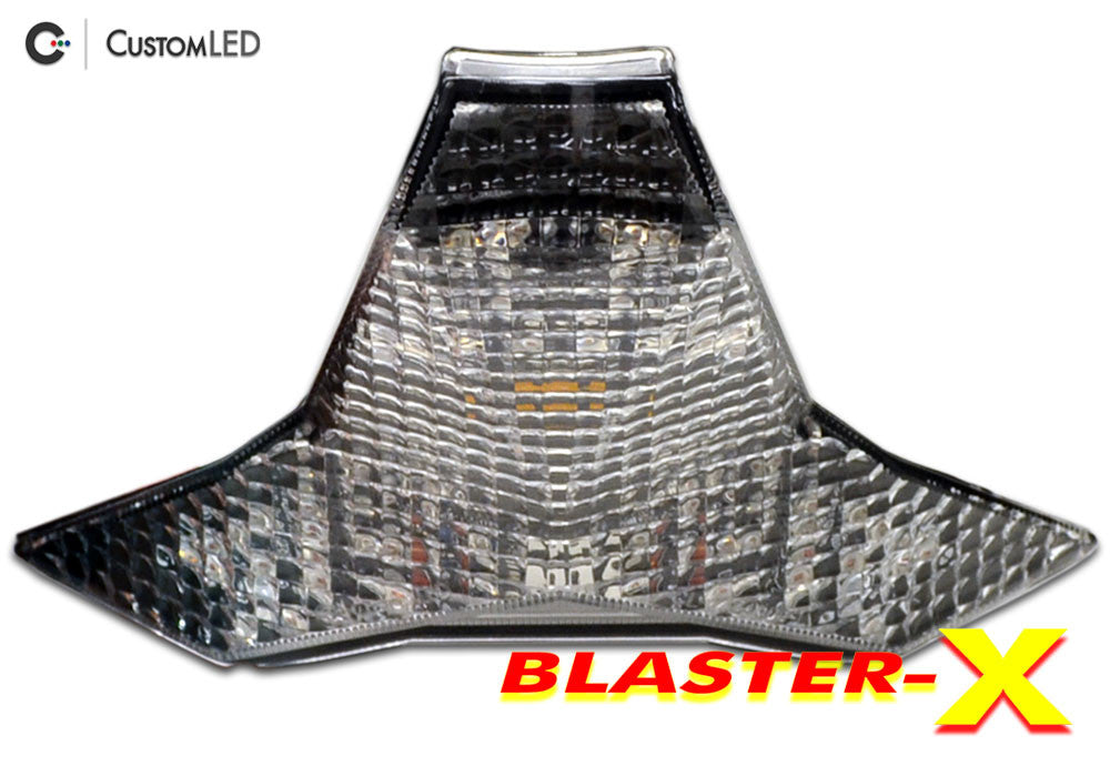 Kawasaki ZX-6R Blaster-X Integrated LED Tail Light for years 2019 by Custom LED