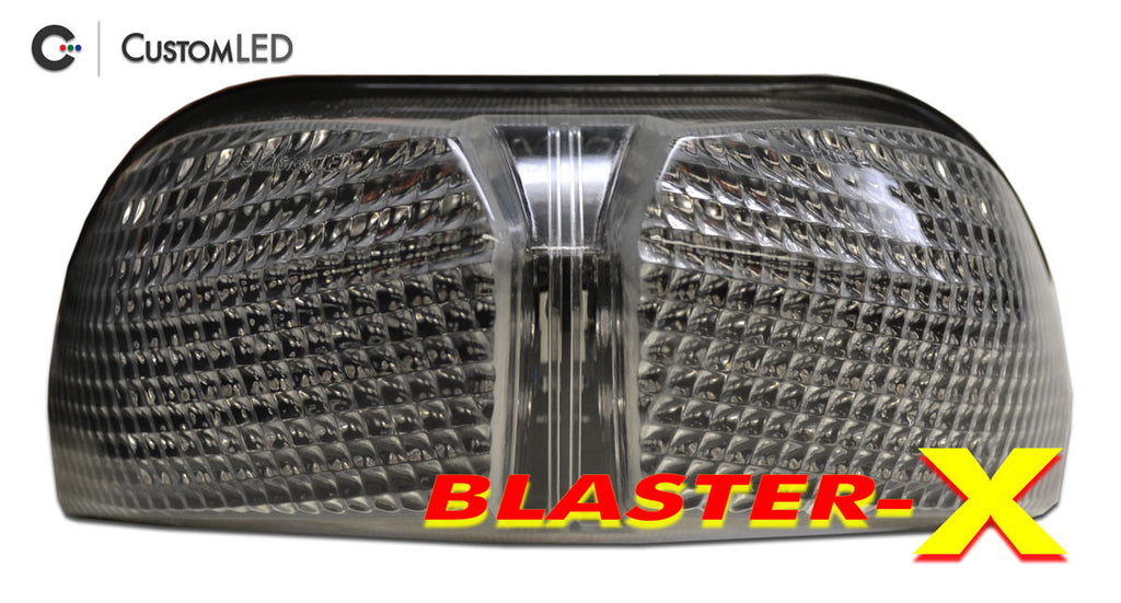 Yamaha FZ8 Blaster-X Integrated LED Tail Light for years 2011 2012 2013 by Custom LED
