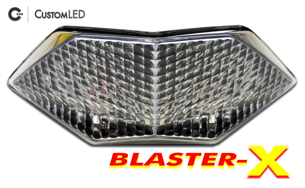 Kawasaki Ninja 300 Blaster-X Integrated LED Tail Light for years 2013 2014 2015 2016 2017 by Custom LED