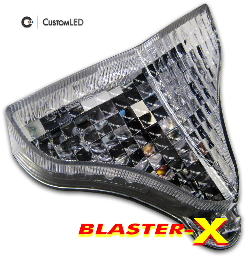 Yamaha YZF-R1 Blaster-X Integrated LED Tail Light for years 2009 2010 2011 2012 2013 2014 by Custom LED