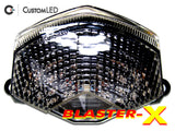 Kawasaki Ninja ZX-6R Blaster-X Integrated LED Tail Light for years 2009 2010 2011 2012 by Custom LED