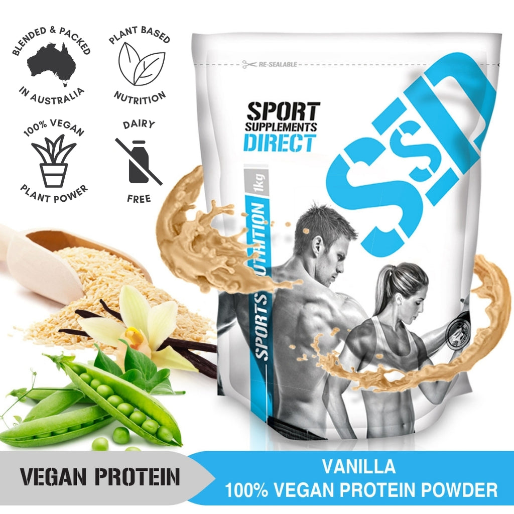 VEGAN PROTEIN POWDER VANILLA