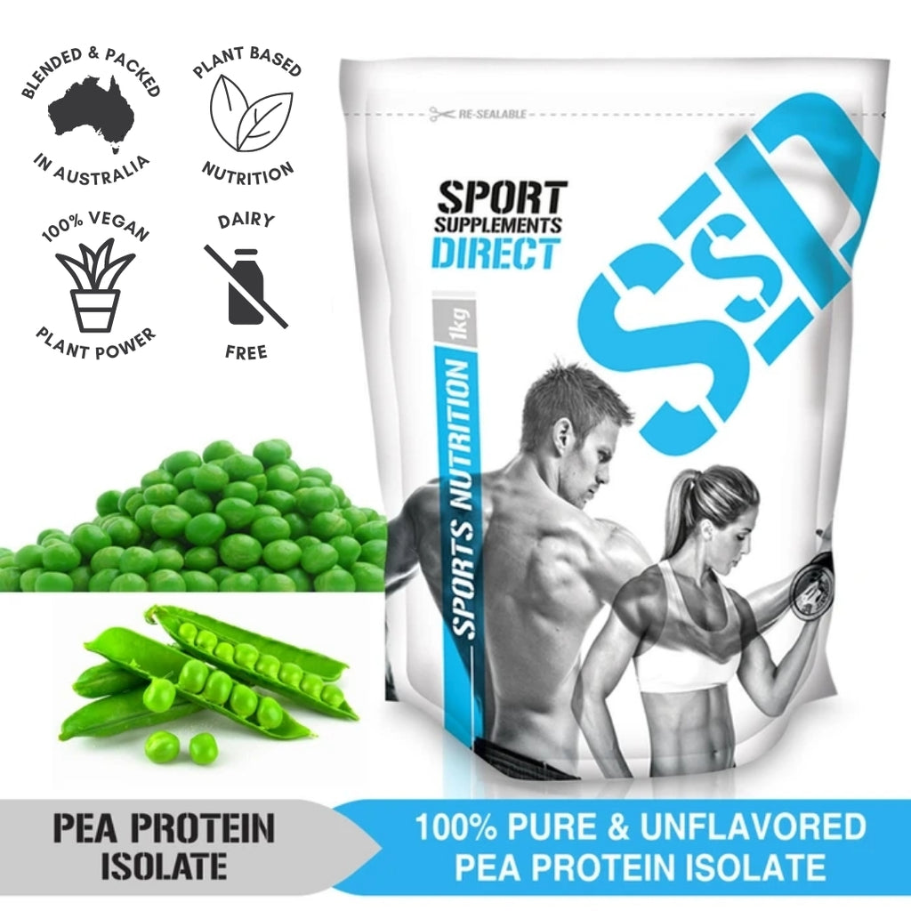 100% NATURAL PURE PEA PROTEIN ISOLATE