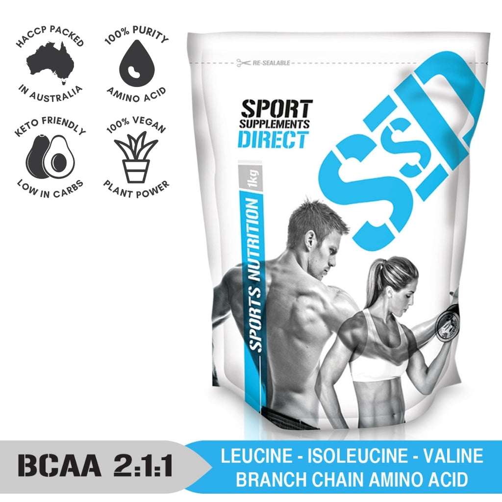 100% PURE INSTANTISED 2:1:1 PURE BCAA