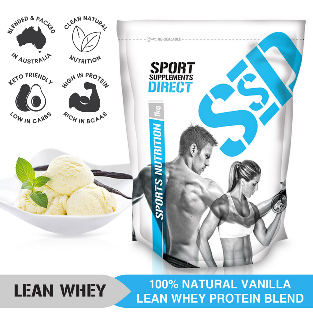 NATURAL LEAN WHEY PROTEIN WPI/WPC