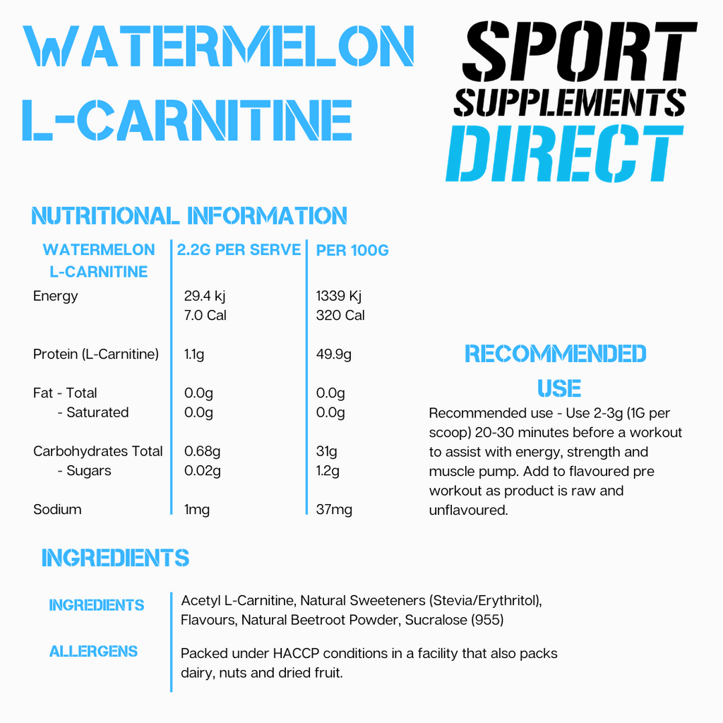 WATERMELON ACETYL L-CARNITINE