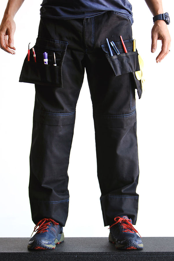 Blue Stitched G2 Pants