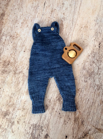 Baby Knit Overalls