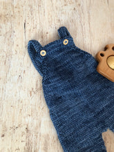 Load image into Gallery viewer, Baby Knit Overalls