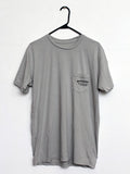 Woodshop pocket t-shirt (Light Gray)