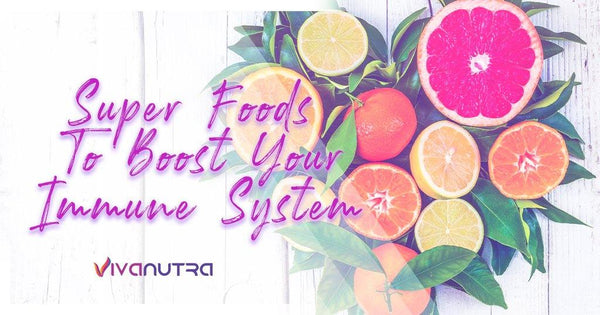 Super Foods to Boost Your Immune System - Viva Nutra