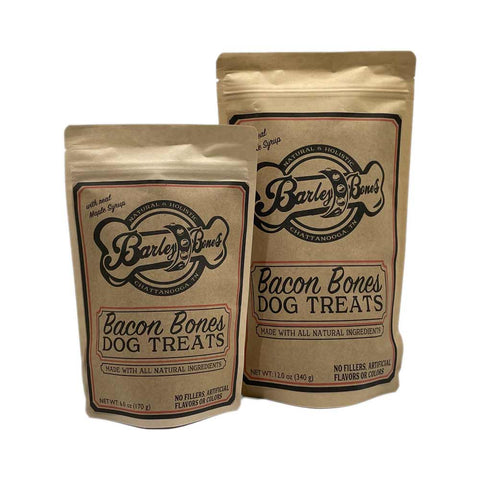 Barley Bones Bacon Flavored Dog Treats  Edit alt text