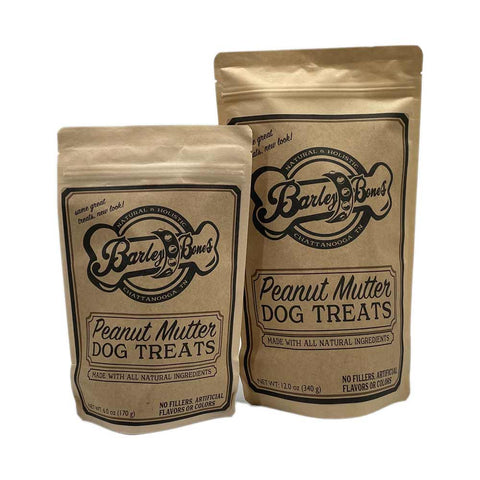 Barley Bones Peanut Mutter Dog Treats  Edit alt text