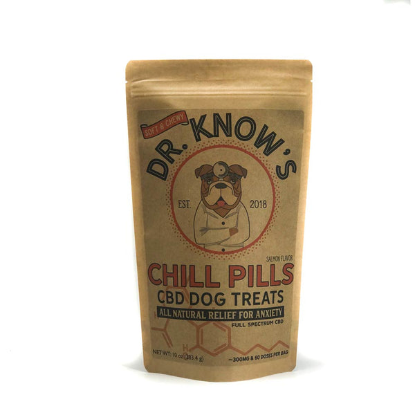 Dr. Know's Best Chill Pills CBD Dog Treats
