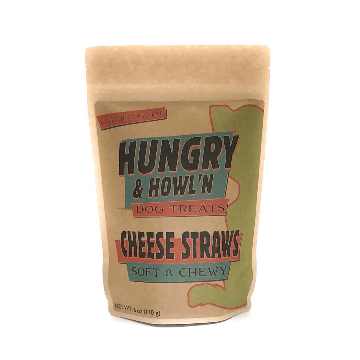 Hungry & Howli'n Cheese Straws Dog Treats