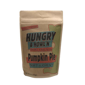 Hungry & Howl'n Pumpkin Pie Dog Treats