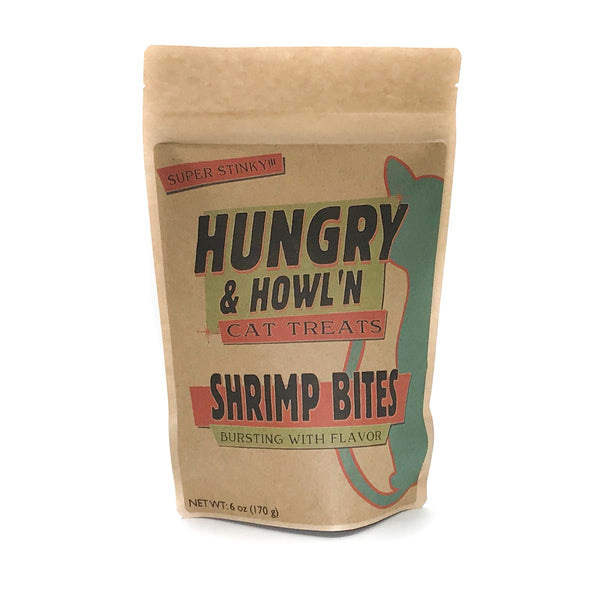 Hungry & Howli'n Shrimp Bites Cat Treats