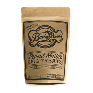 Barley Bones Peanut Mutter Dog Treats
