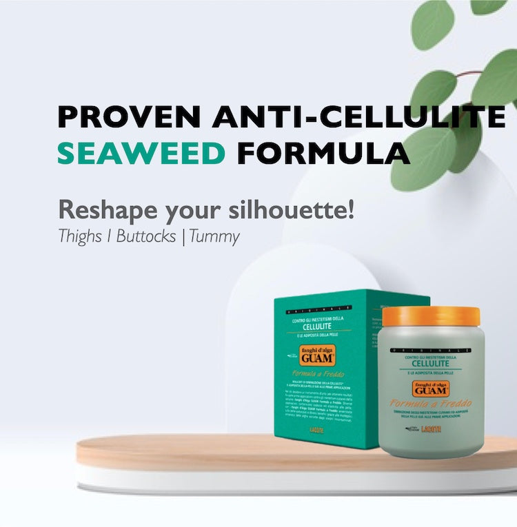 Guam seaweed mud anti-cellulite body wrap collection buy online