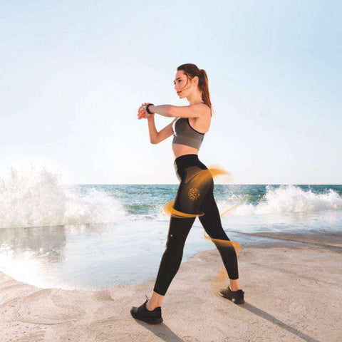 Sport Anti-Cellulite Leggings with Massaging Effect - GUAM Beauty