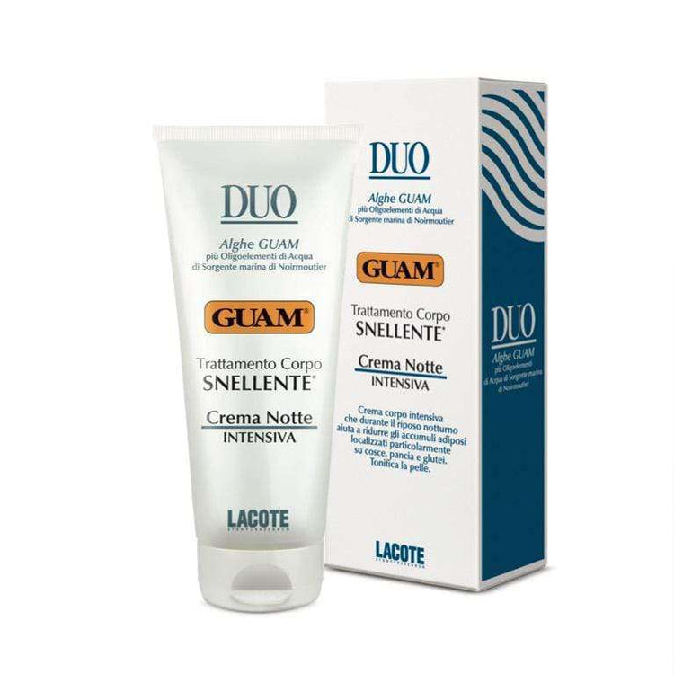 Duo Body Reshaping, Intense Slimming Cream, Nighttime - GUAM Beauty
