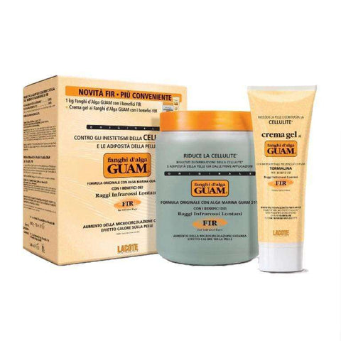Guam Seaweed mud body wrap economy pack bundle original FIR strengthening gel
